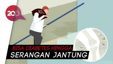 Obesitas Banyak Risikonya, Apa Saja?