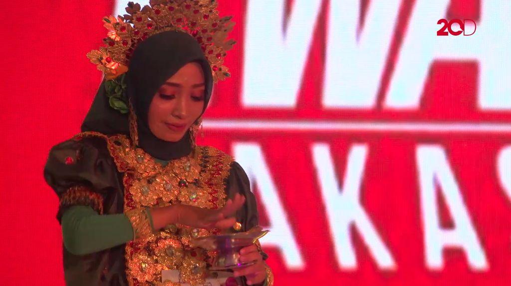 20 Besar Makassar - Tarian Bugis Nur Khaerunnisa