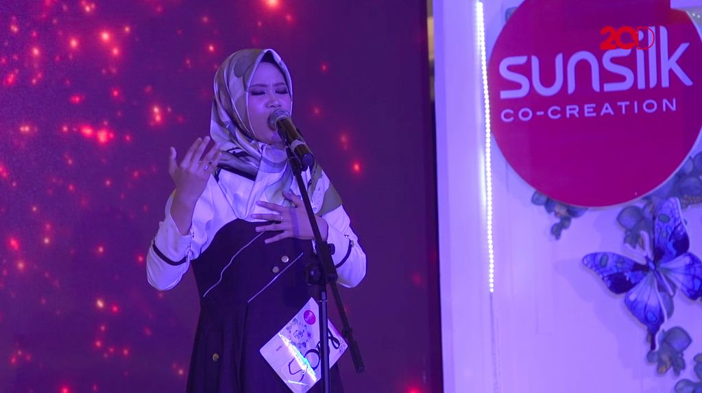 20 Besar Makassar - Suara Indah Nurdillah Said