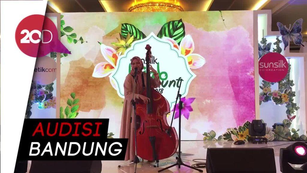 Nyanyi Bareng Tamara Aisyah di Sunsilk Hijab Hunt 2018 Bandung
