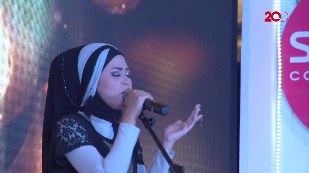 20 Besar Makassar - Penghayatan Lagu Andi Mutiah