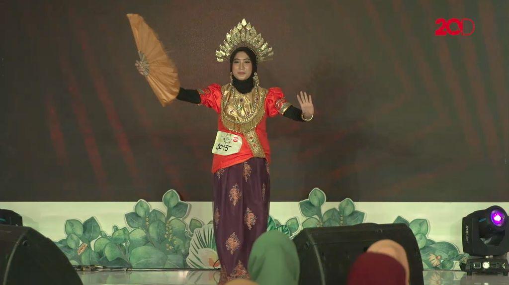20 Besar Makassar - Tari khas Nur Asmi