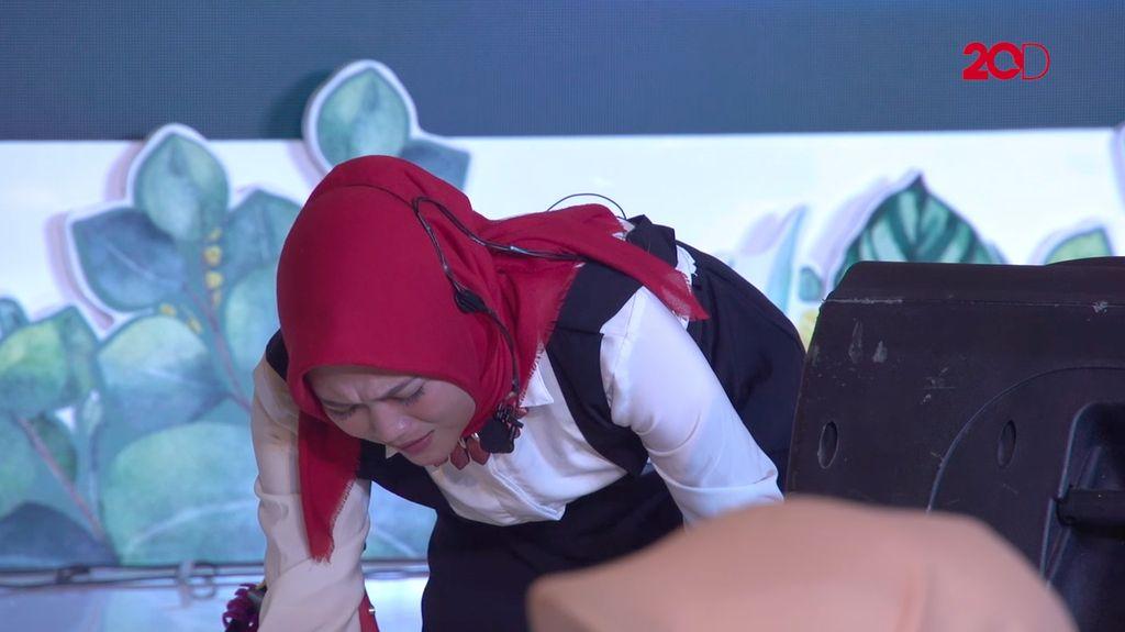 20 Besar Makassar - Peran Menyedihkan Selfiani Agustin