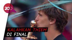 Alexander Zverev Juara di Madrid Terbuka