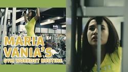 Maria Vanias Gym Workout Routine