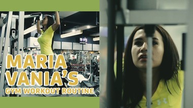 Maria Vanias Gym Workout Routine