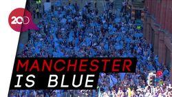 City Juara, Manchester Membiru