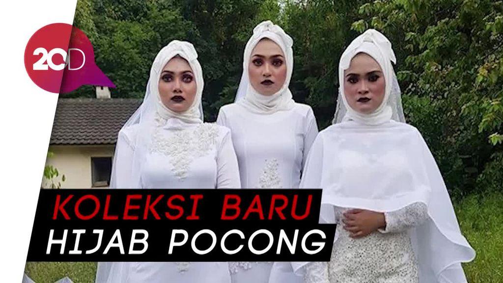 Hii! Viral Hijab Pengantin Seram untuk Foto Pernikahan