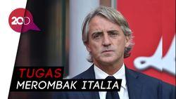 Ungkapan Bangga Mancini Bisa Melatih Timnas Italia