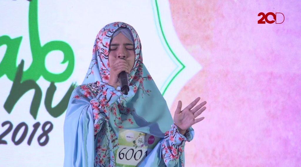 20 Besar Bandung - Dakwah dan Salawat Bersama Nada Umaya