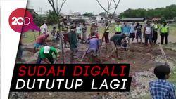 Warga Tolak Kuburan Bomber Surabaya