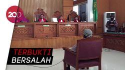Aman Abdurrahman, Otak Rangkaian Teror Bom Dituntut Mati