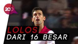 Djokovic Mulus ke Perempatfinal Italia Terbuka