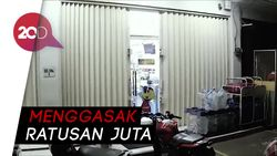 Rampok Bersenpi Gasak Minimarket di Matraman