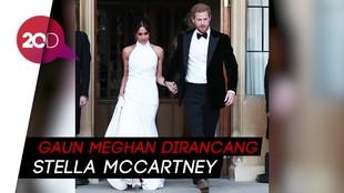 Meghan Markle Kenakan Gaun dari Stella McCartney di Resepsi