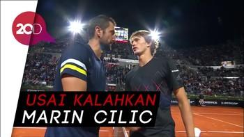 Zverev Tantang Nadal di Final Italia Terbuka