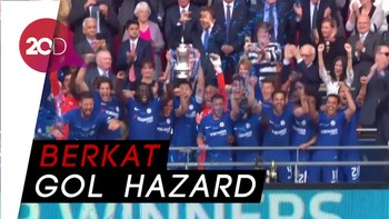 Kalahkan MU, Chelsea Juara Piala FA
