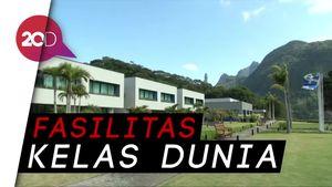 Mengintip Kamp Pelatihan Timnas Brasil