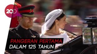 Harry Pangeran Pertama yang Tampil Berjenggot di Hari Pernikahan