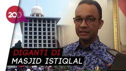 Anies Batalkan Acara Tarawih Akbar di Monas