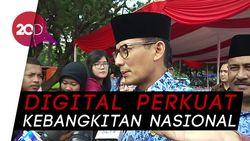 Sandi Janji Buka Lapangan Kerja Digital
