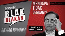 Saksikan Blak-blakan Anwar Ibrahim: Mengapa Tidak Dendam