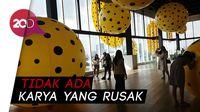 Karya Yayoi Kusama di Museum Macan Kabarnya Dirusak, Benarkah?