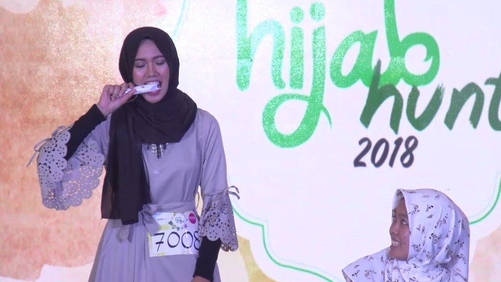 20 Besar Jakarta - Aksi Debus Ana Lestiana Bikin Kaget Juri