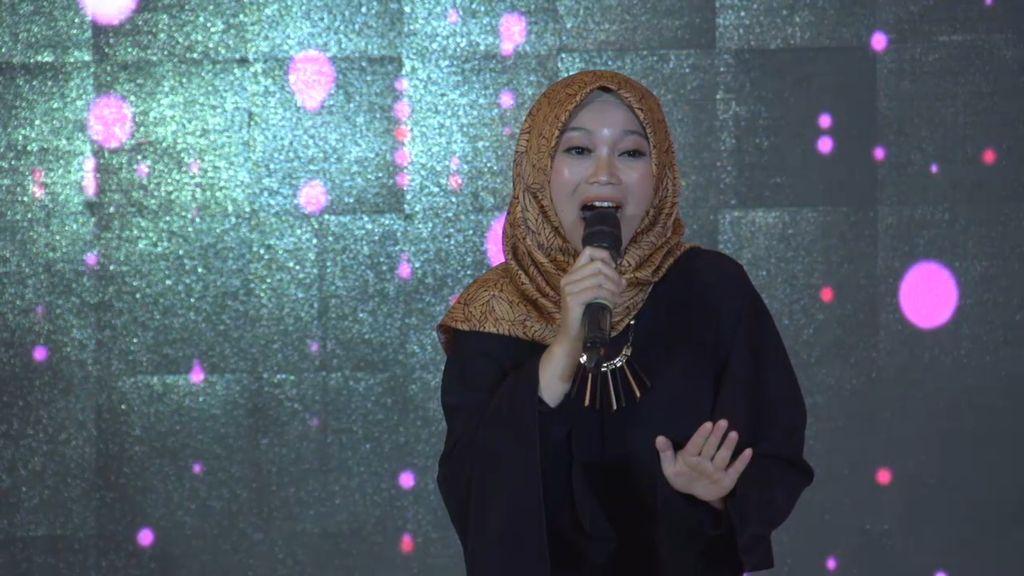 20 Besar Jakarta - Merdunya Melinda Agustina Bernyanyi Seriosa