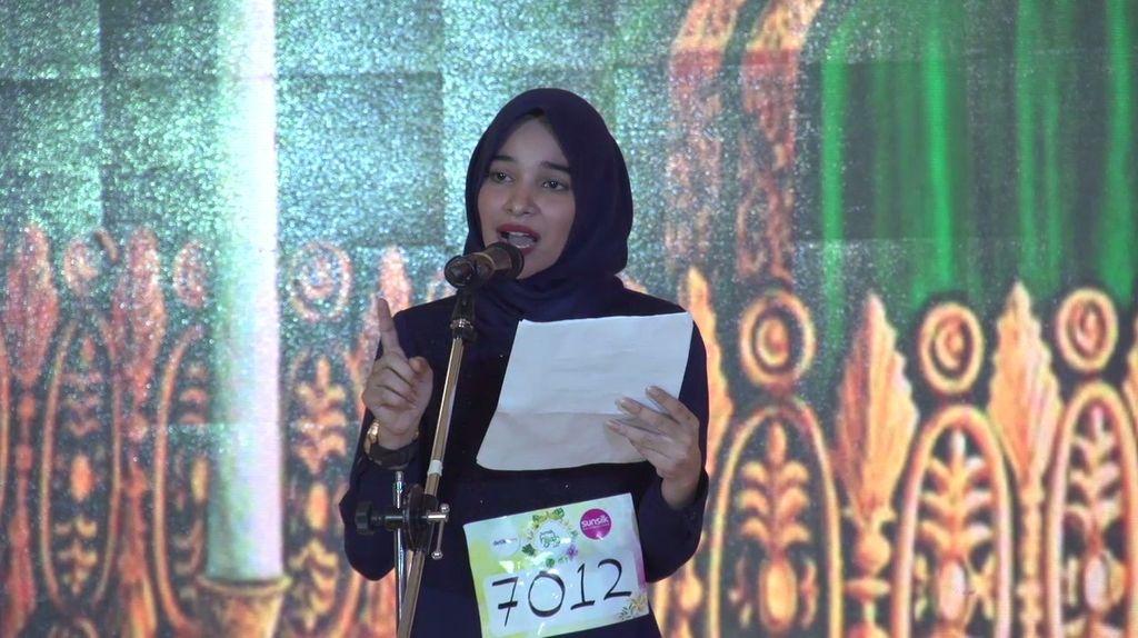 20 Besar Jakarta - Berpuisi Ala Zulfa yang Penuh Penjiwaan