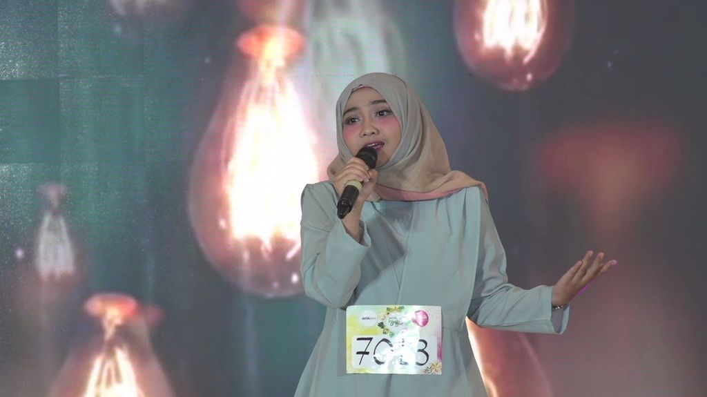 20 Besar Jakarta - Indahnya Livia Bermelodi dalam Puisi