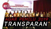 KIP Motori Keterbukaan Parpol Peserta Pemilu 2019