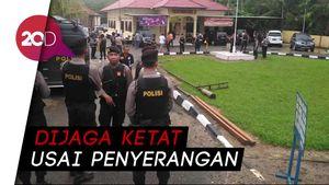 Polsek Maro Sebo Jambi Diserang Pria Bersenjata Tajam