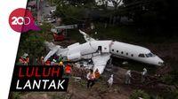 Ngeri! Penampakan Pesawat Tergelincir di Honduras