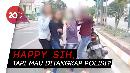Main Tik Tok di Jalan Berujung Ditilang Polisi