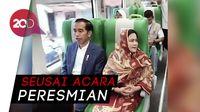Saat Jokowi Jajal Kereta Bandara Minangkabau Express