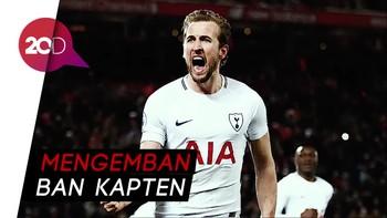 Kane Pimpin Inggris di Piala Dunia 2018
