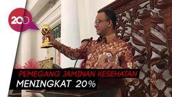 Jakarta Memperoleh Penghargaan UHC Award dari Jokowi
