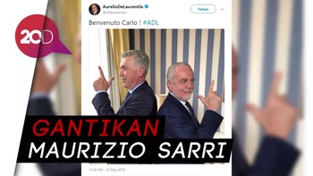 Ancelotti Resmi Jadi Pelatih Napoli