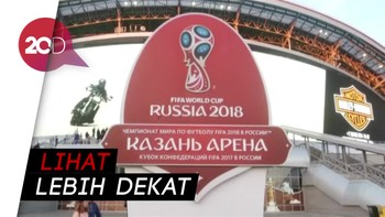 Kemegahan Stadion untuk Piala Dunia di Rusia Part 2