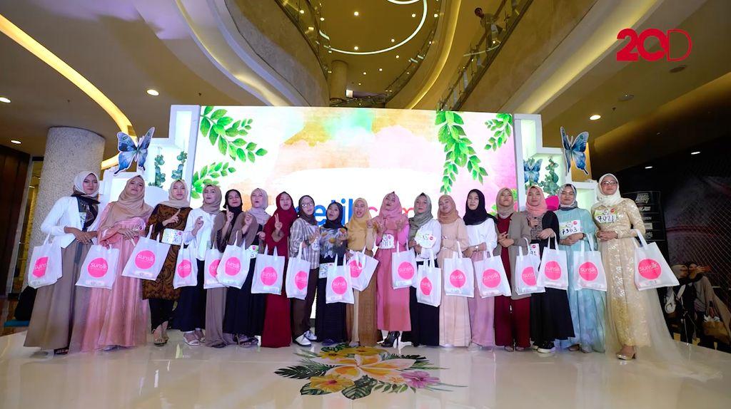 Ragam Bakat Unik di Audisi Sunsilk Hijab Hunt Jakarta