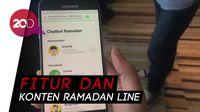 Line Hadirkan Fitur Chatbot Khusus Ramadan