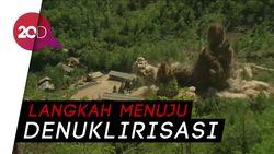 Korut Resmi Hancurkan Situs Uji Coba Nuklir di Punggye-ri