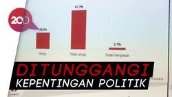 Survei Y-Publica: 67,3% Publik Tak Setuju Gerakan Ganti Presiden
