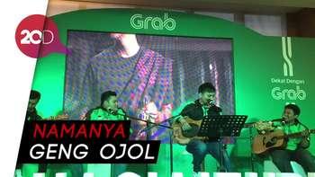 Serunya Lihat Driver Grab dan Go-Jek Bikin Band Musik