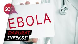 Gawat! 3 Pasien Ebola di Kongo Kabur dari Rumah Sakit