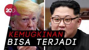 Trump Ungkap Peluang Pertemuan dengan Kim Jong Un pada 12 Juni