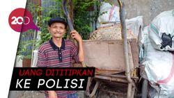 Jubaidi, Tukang Sampah yang Kembalikan Uang Temuan Rp 20 Juta