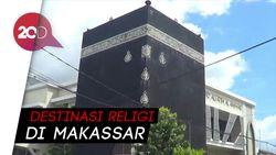 Subhanallah! Uniknya Masjid Menyerupai Kakbah Ini