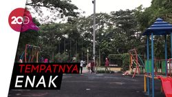Ngabuburit di Taman Menteng, Asyik Juga!